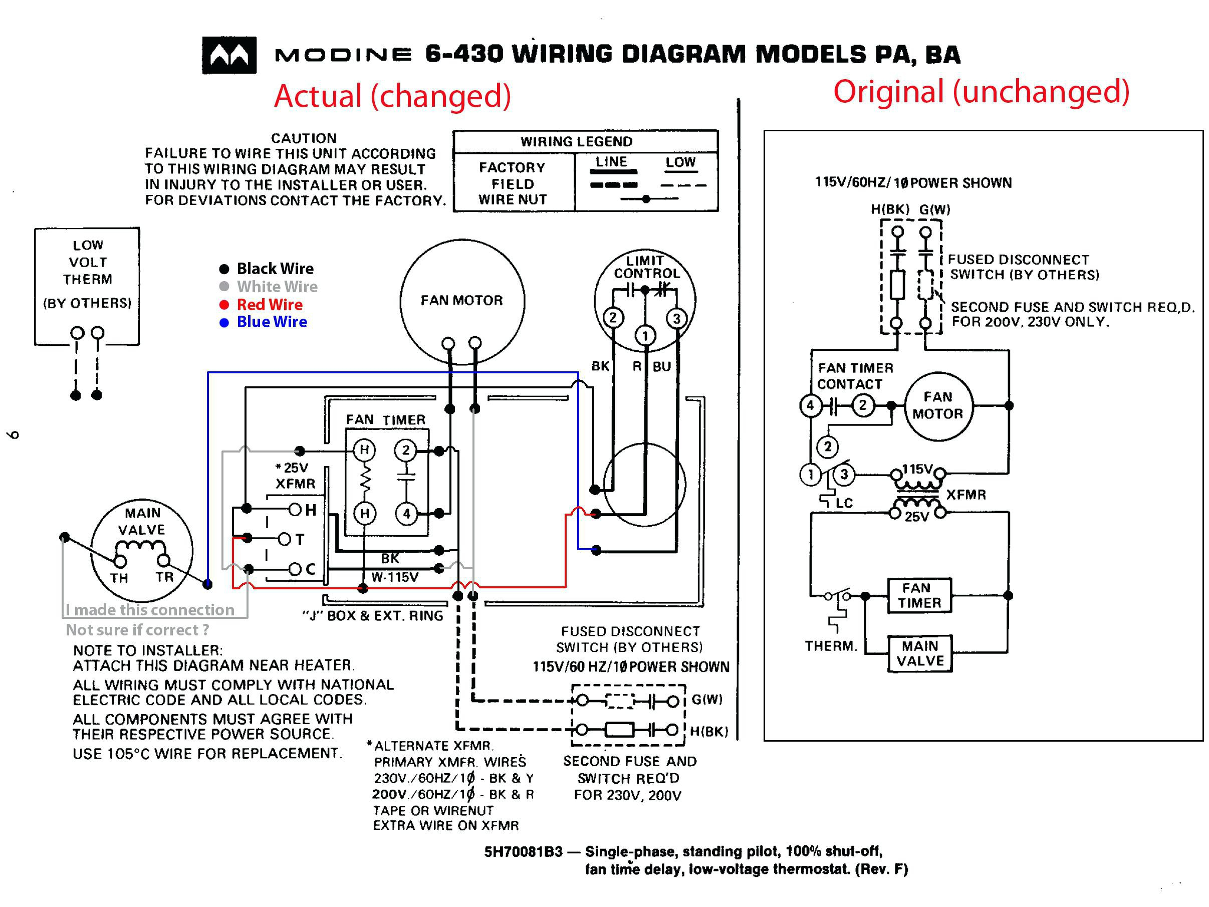 modine pa75ab wiring diagram Collection-Modine Gas Heater Wiring Diagram Elegant Modine Gas Heater Wiring Diagram Wiring Diagram 20-t