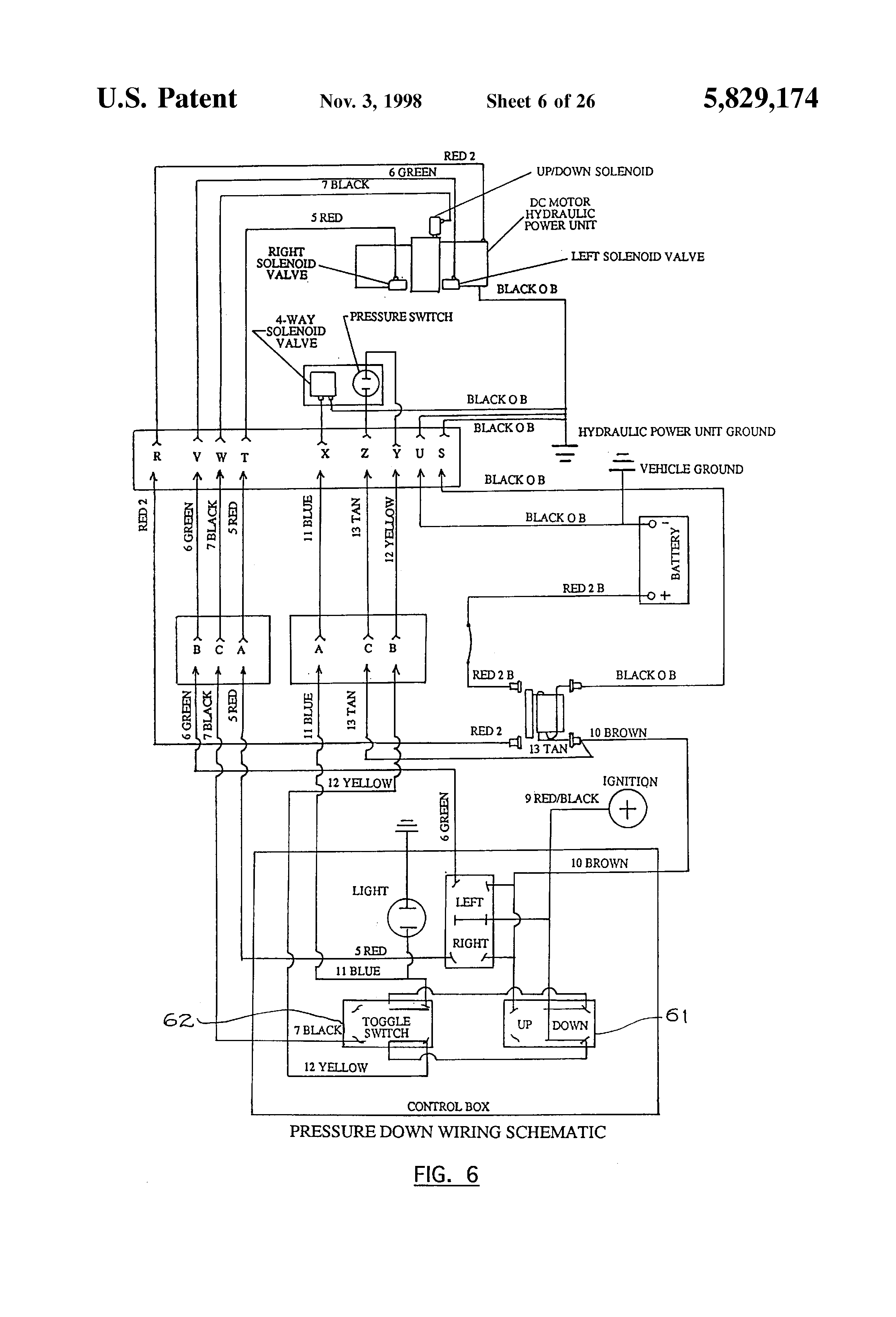 snow plow wiring schematic
