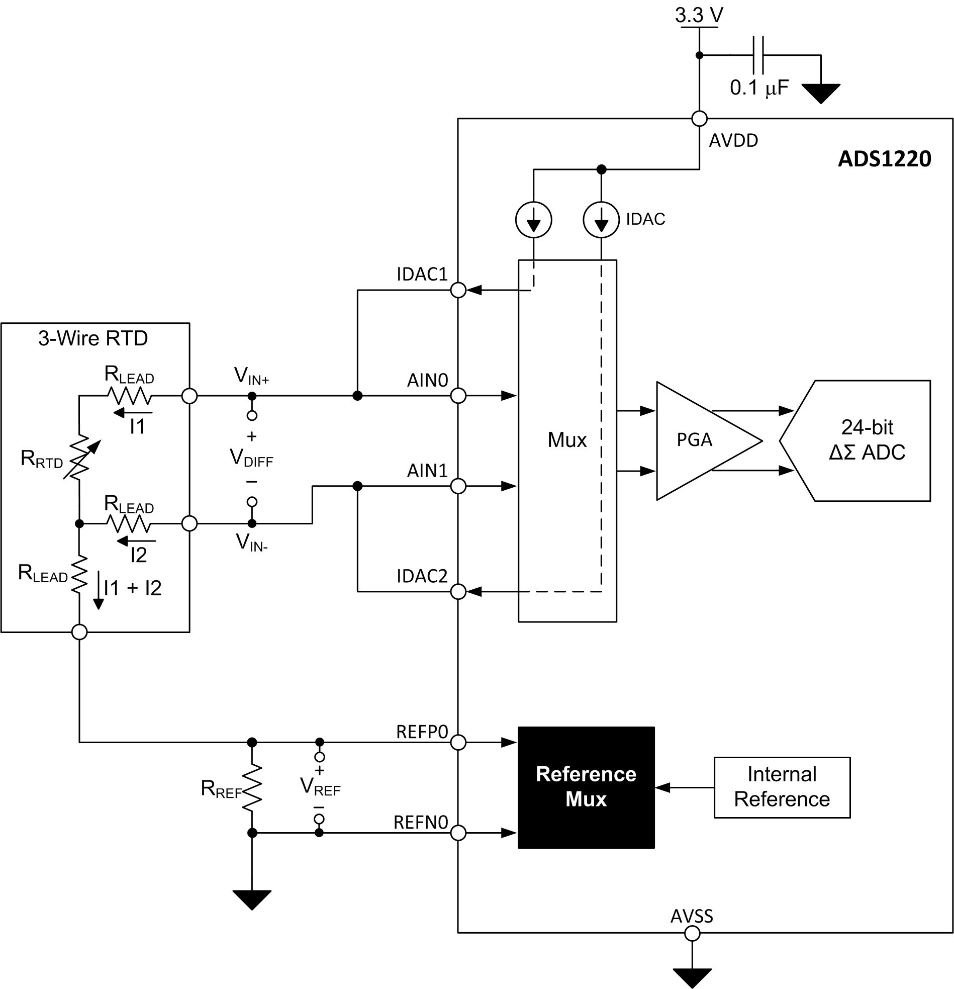 Temperature Activated Switch Circuit Diagram Trusted Wiring Non Contact Tachometer Using 8051 Microcontroller Eeweb 3 Wire Pt100 Sensor Center U2022