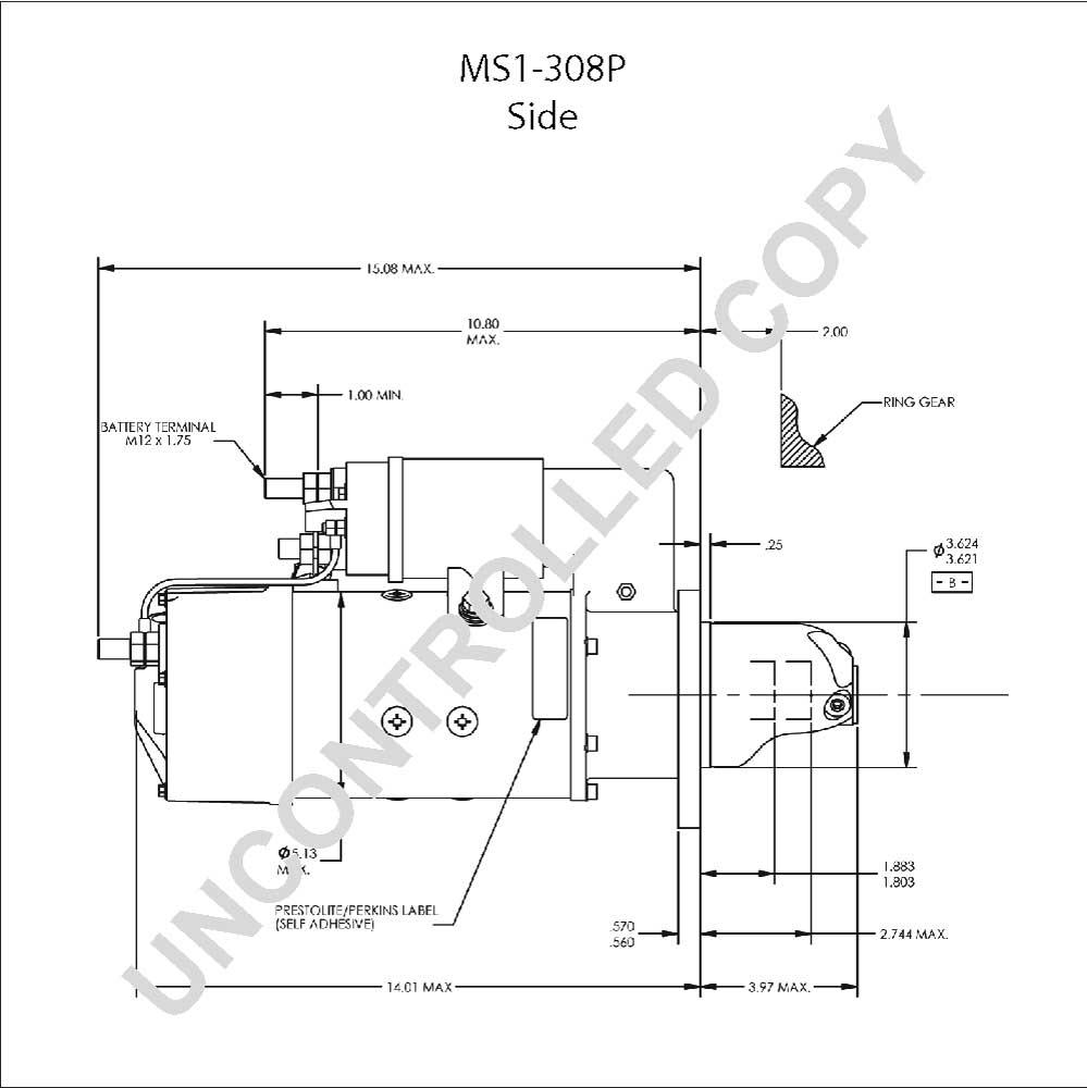 motor starter wiring diagram sample