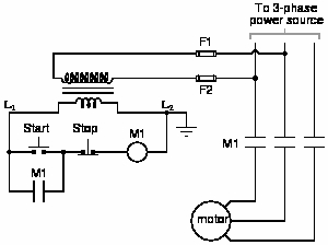 "motor starter wiring diagram start stop Collection-Explain the operation of this circuit from the time the ""Start"" switch is actuated to the time the ""Stop"" switch is actuated The normally open M1 contact 14-f"