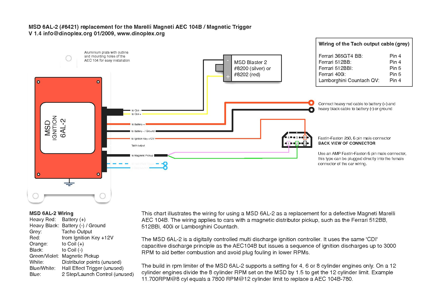 Msd 6al Ignition Wiring Diagram Page 3 And Schematics 4 Pin 2 Collection Sample Rh Faceitsalon Com Installing