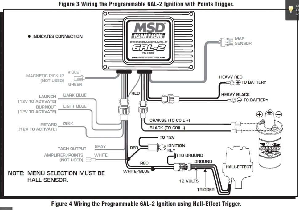 msd 6al 2 wiring diagram collection
