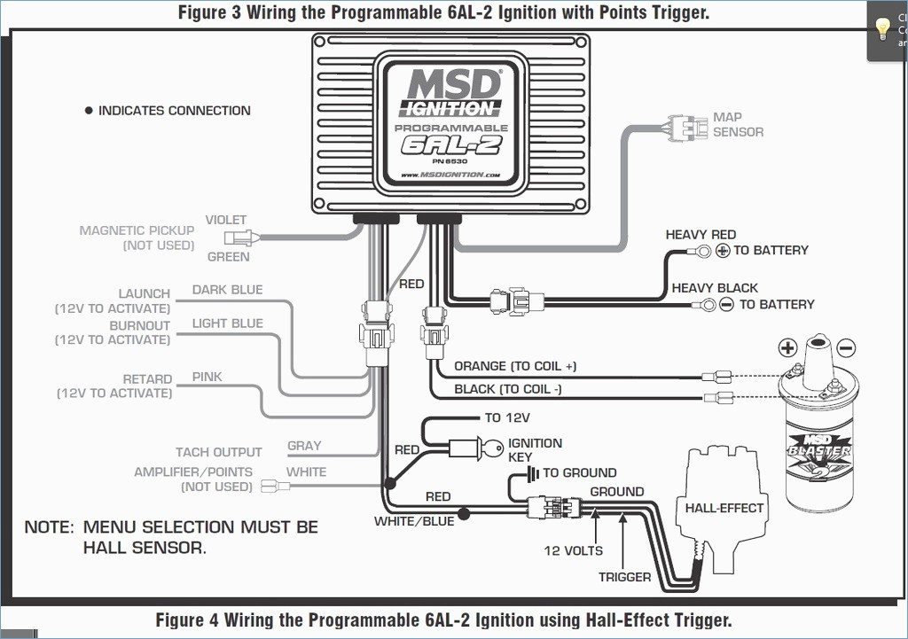 msd 6al hei wiring diagram collection