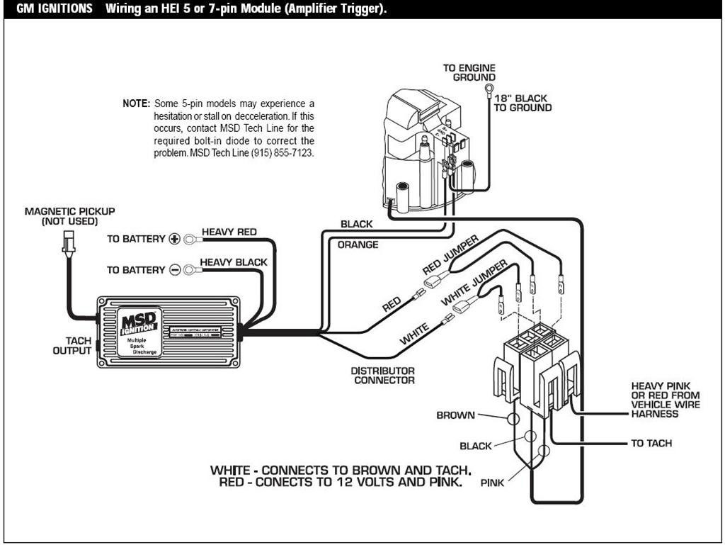 msd 6al wiring diagram chevy hei Download-Great 10 Msd 6al Wiring Diagram Instruction Best Ignition Box Entrancing A 2-i