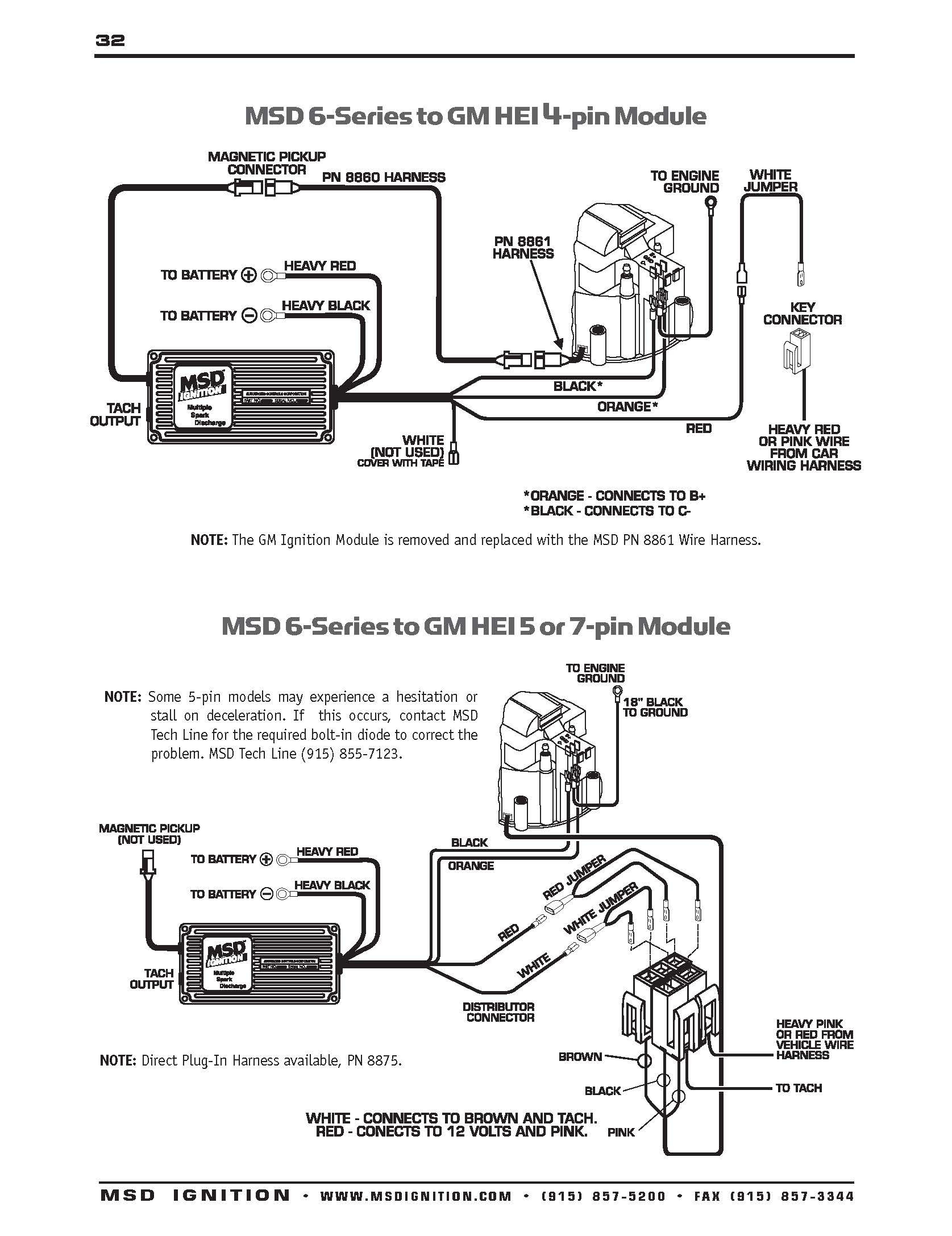 msd 6al wiring diagram chevy hei Download-Hei Ignition 6al Msd 6Al Wiring Diagram Fitfathers Me Outstanding Blurts And 16-h