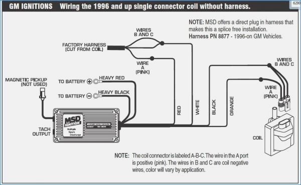 msd 6al wiring diagram chevy hei Download-Msd 6al Ignition Box Wiring Diagram – brainglue 15-h