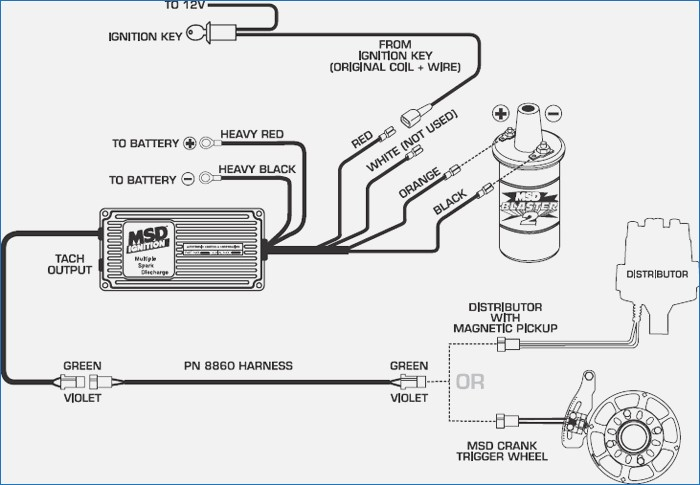 ford msd ignition wiring diagram 350 chevy msd ignition wiring diagram