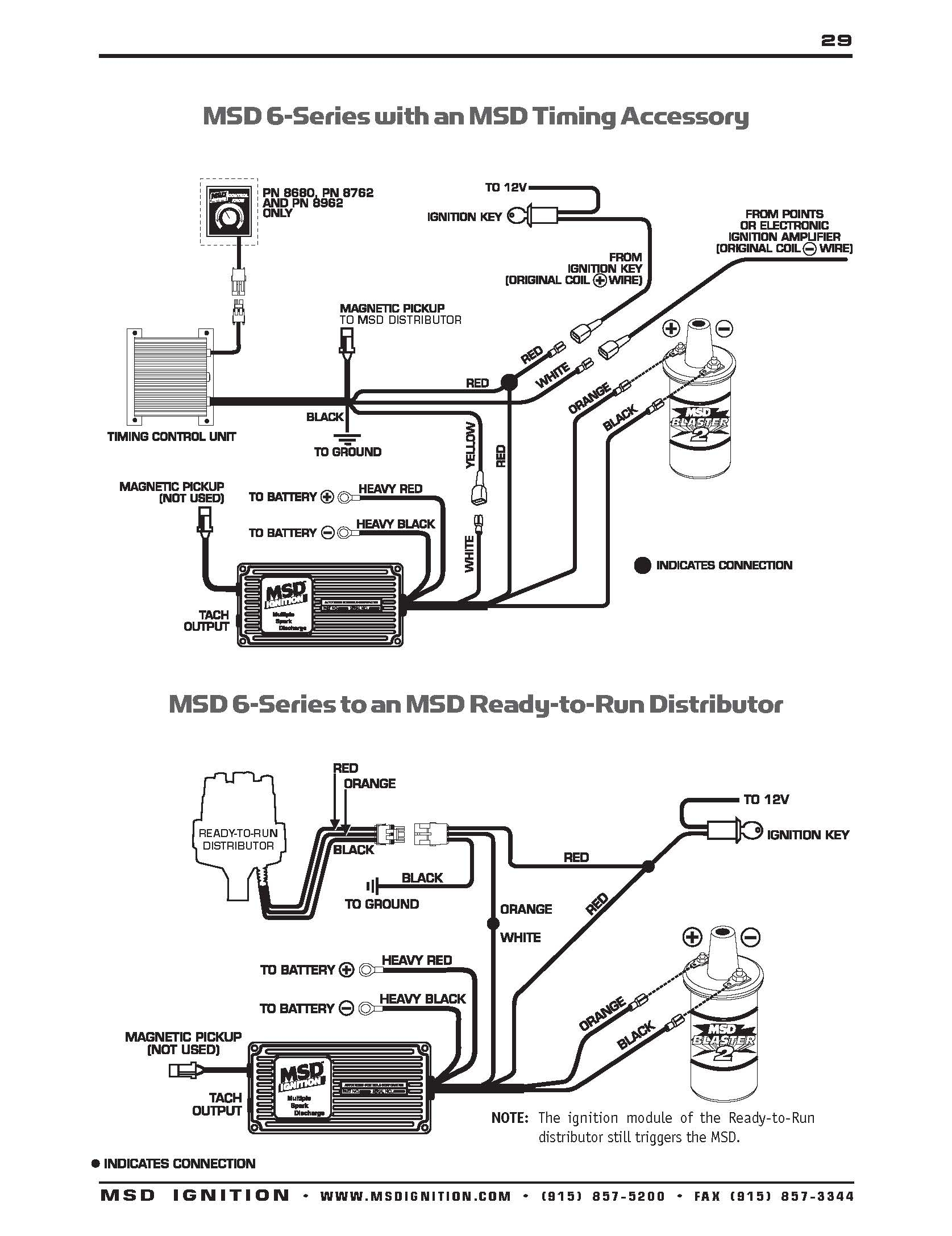 msd ignition 6al wiring diagram Collection-msd 6al 2 wiring Download Msd Ignition Wiring Diagrams With Distributor Diagram To 9 5-s