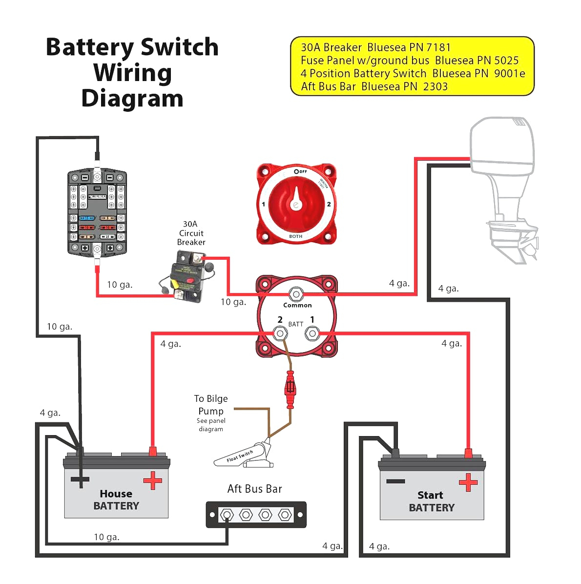 multi battery isolator wiring diagram Download-Dual Battery Isolator Wiring Diagram Simple 17 19-m