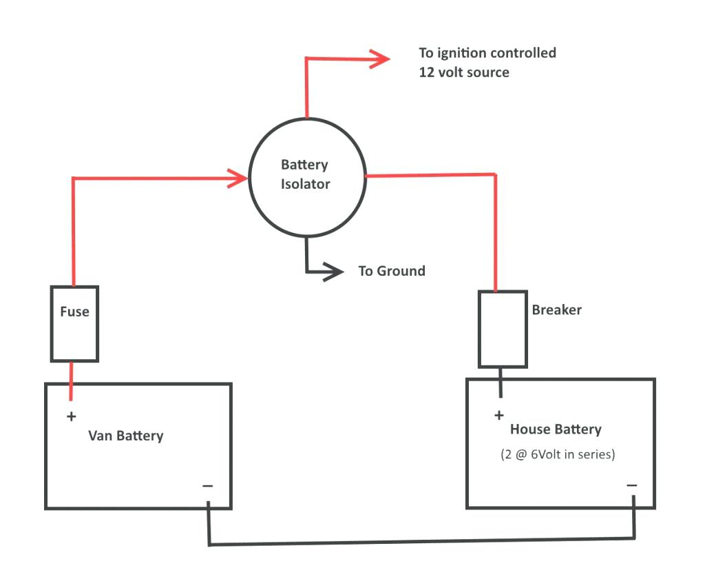 multi battery isolator wiring diagram Collection-How To Wire A Battery Isolator WIRING DIAGRAM 1 15-o