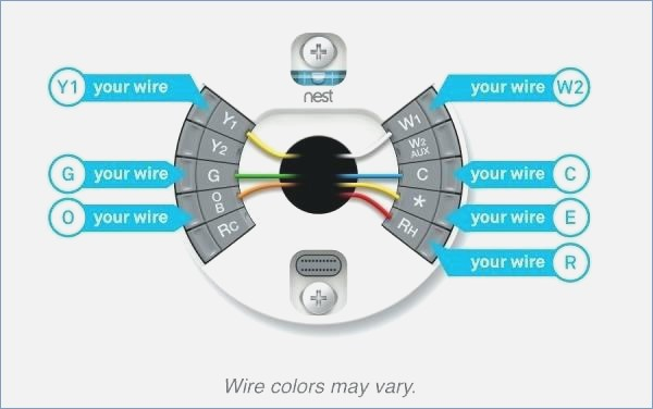Nest Dual Fuel Wiring Diagram - How to Install A Mon Wire for Nest Best Nice Nest thermostat Wiring Diagram 4 4h