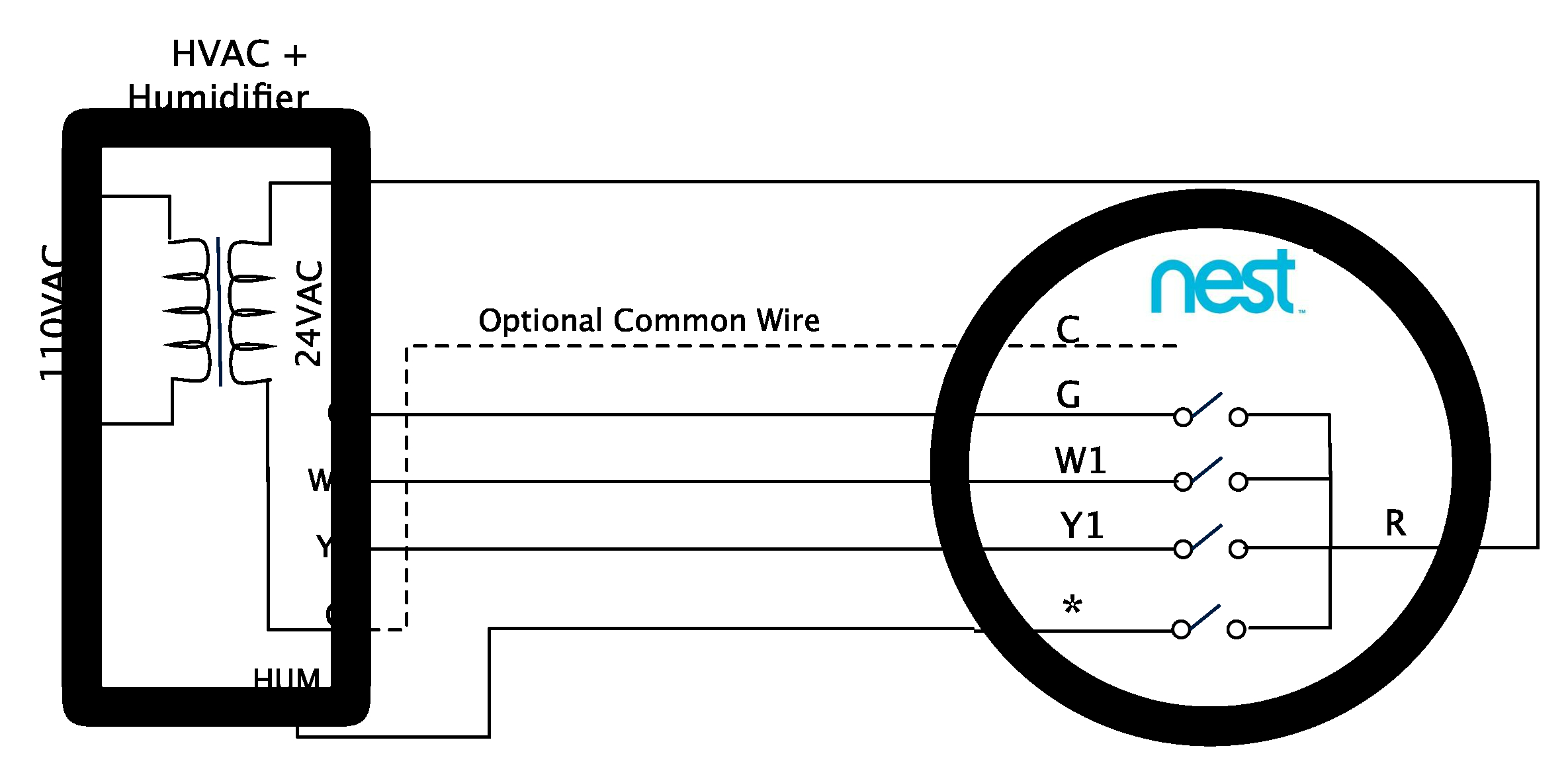 Nest E Wiring Diagram Collection