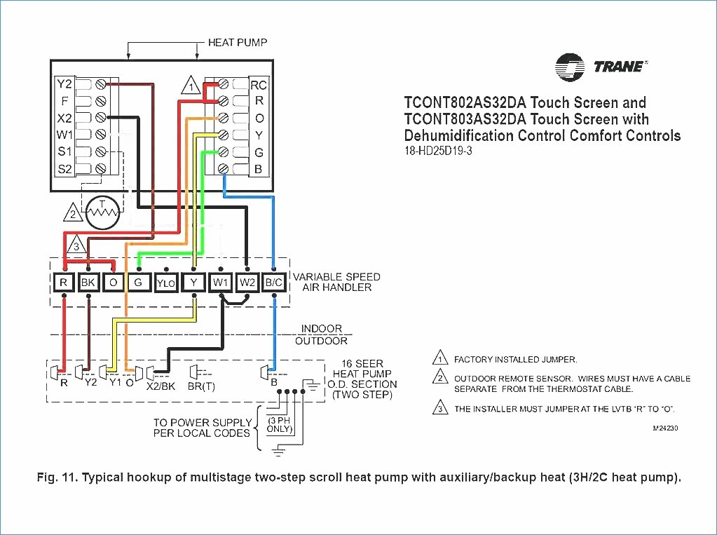 nest heat pump wiring diagram Download-Wiring Diagram For Heat Pump Thermostat 4-o