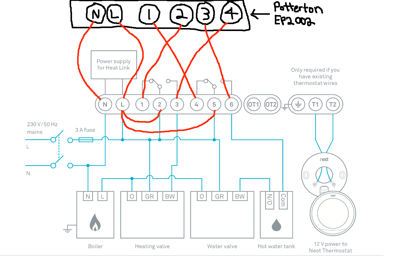 Nest thermostat 3rd Generation Wiring Diagram Gallery | Wiring ... on
