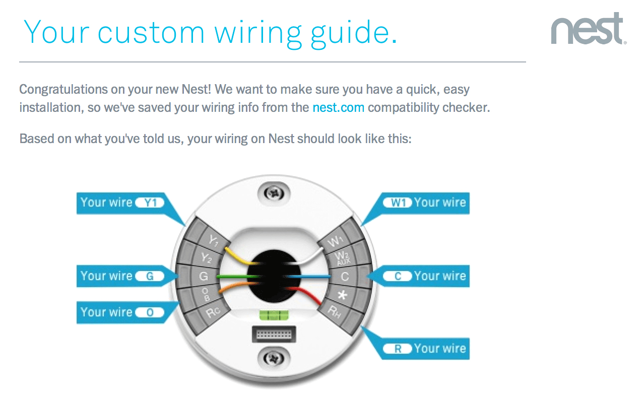 Nest Thermostat Wiring Diagram Wire With An Orange Electrical 2 Stage Fresh Air Intake Simple Collection