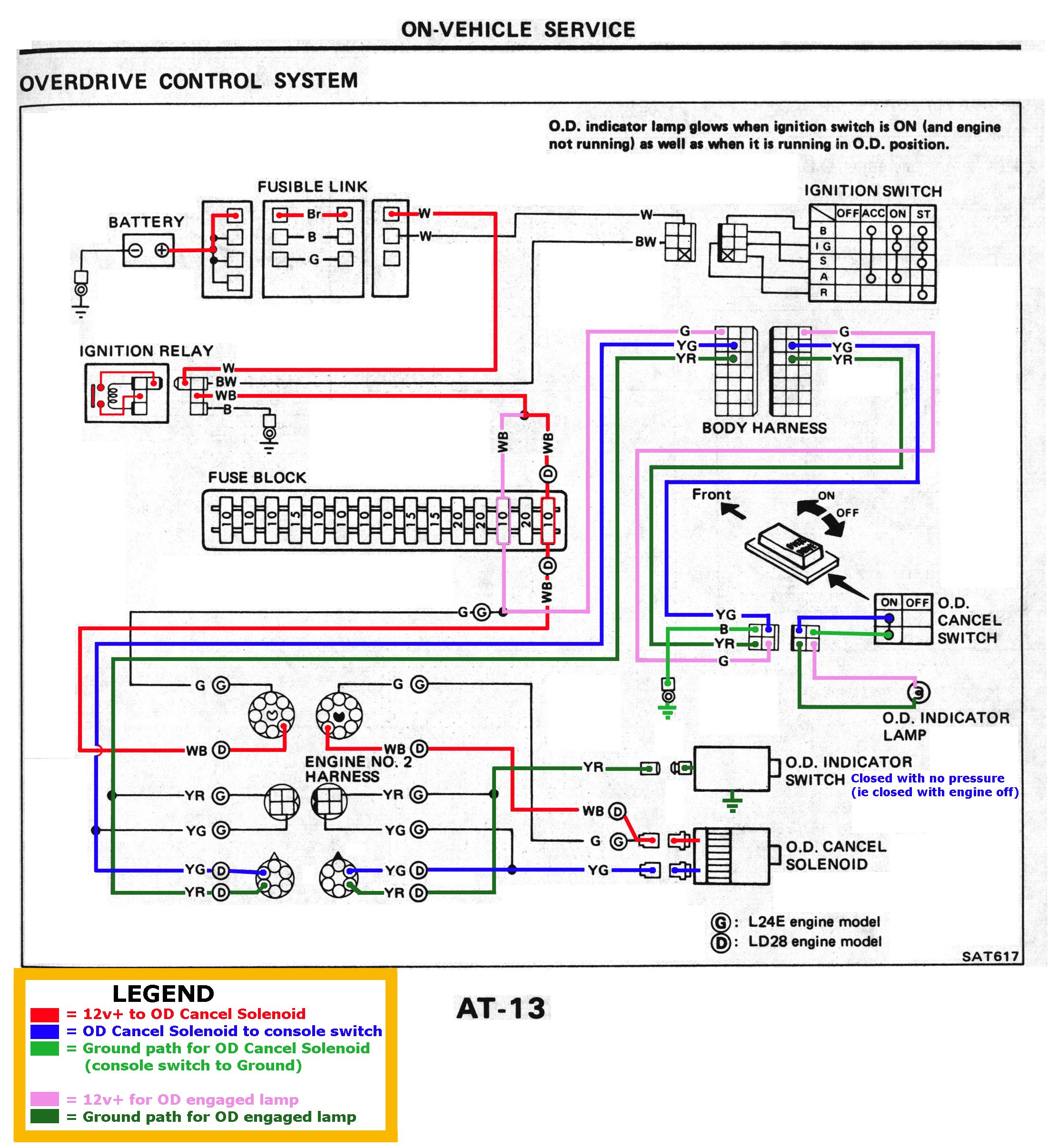 nissan ud wiring diagram Collection-Automotive Lpg Wiring Diagram New Nissan sel Forums • View Topic L4n71b Od At 1983 84 6-l
