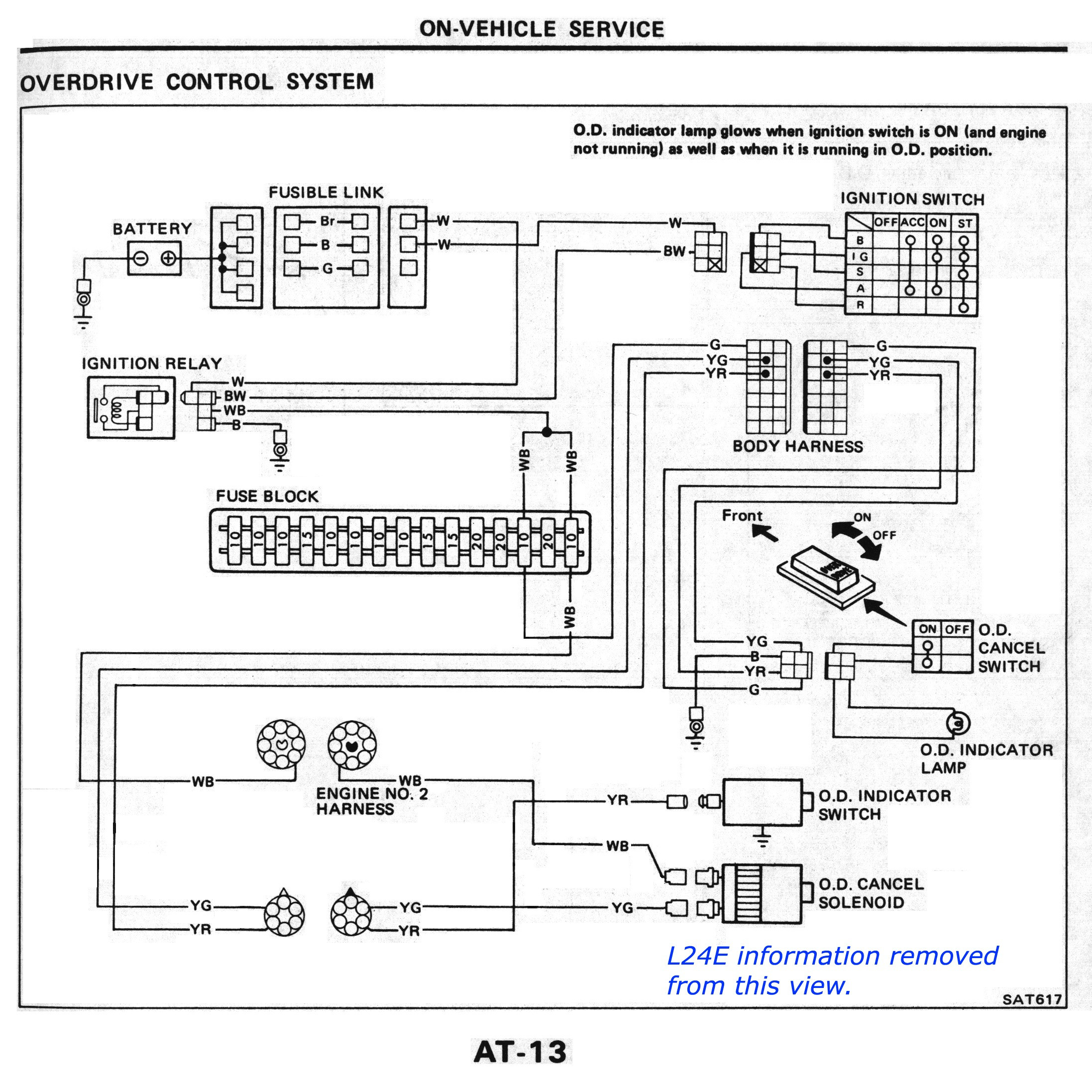 nissan ud wiring diagram Collection-W140 Ac Wiring Diagram Fresh Nissan sel Forums • View Topic L4n71b Od At 1983 84 12-h