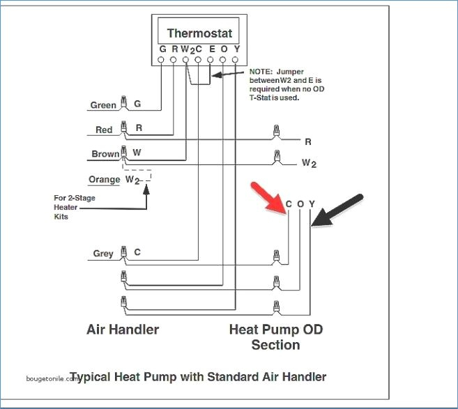 Nordyne Heat Pump Wiring Diagram Thermostat - All Diagram