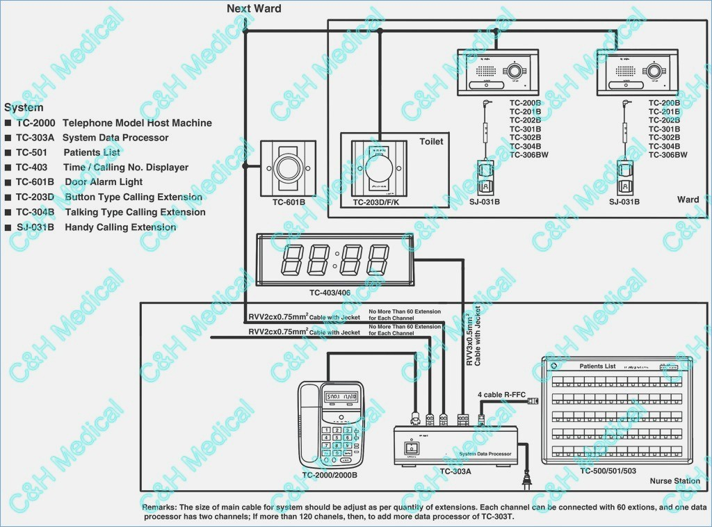 nurse call system wiring diagram Collection-Jeron Inter Wiring Diagram Elegant Famous Nurse Call Wiring Diagram Ideas Electrical Diagram Ideas 17-i