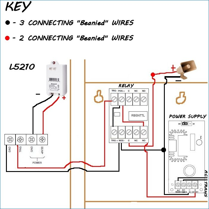 Occupancy Sensor Power Pack Wiring Diagram - Honeywell Sirenkit Od Outdoor Siren Kit for Lynx touch Control 7o