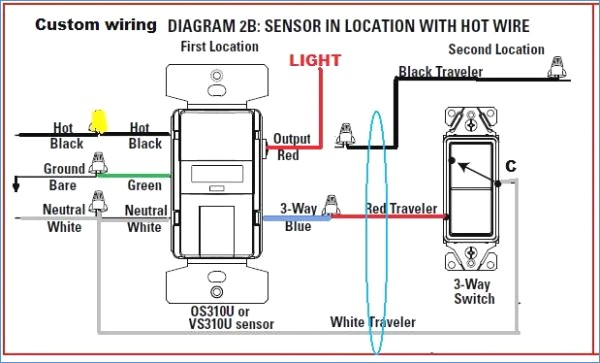 occupancy sensor wiring diagram 3 way gallery wiring diagram sample rh faceitsalon com