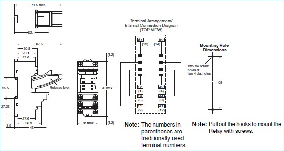 Omron Relay Diagram - Wiring Schematics on