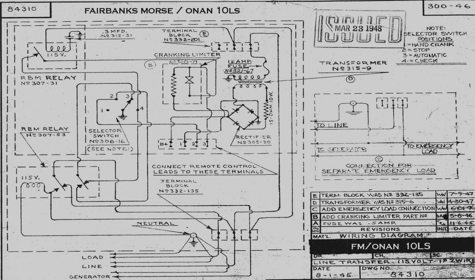 Diagram Generator Wiring Onan 89a02095 - Wiring Diagram For Light ...