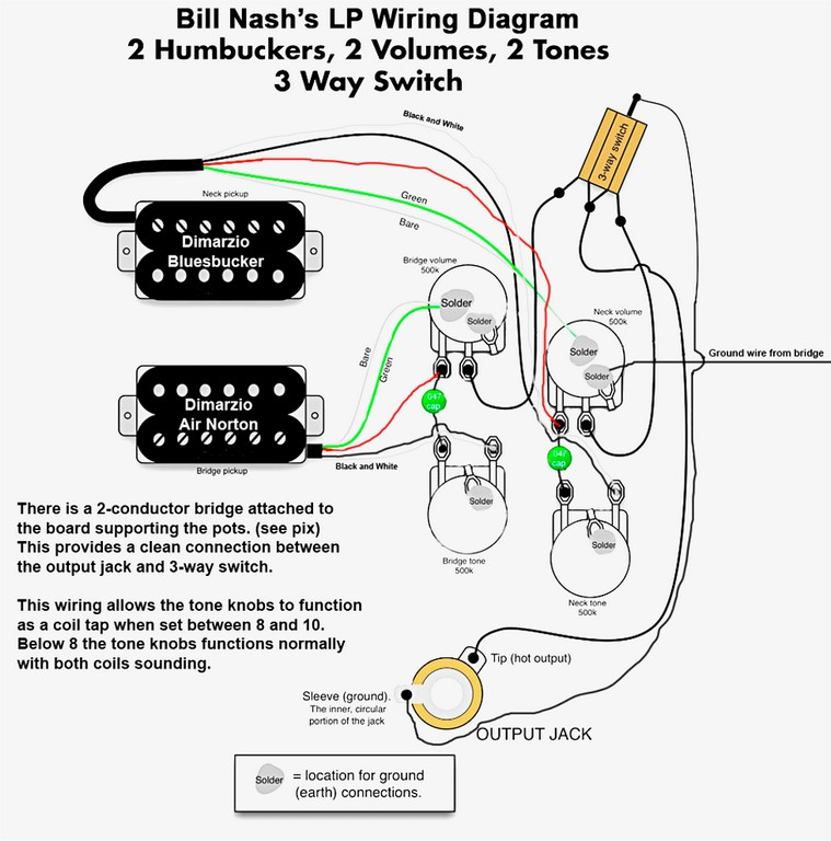 p90 pickup wiring diagram sample