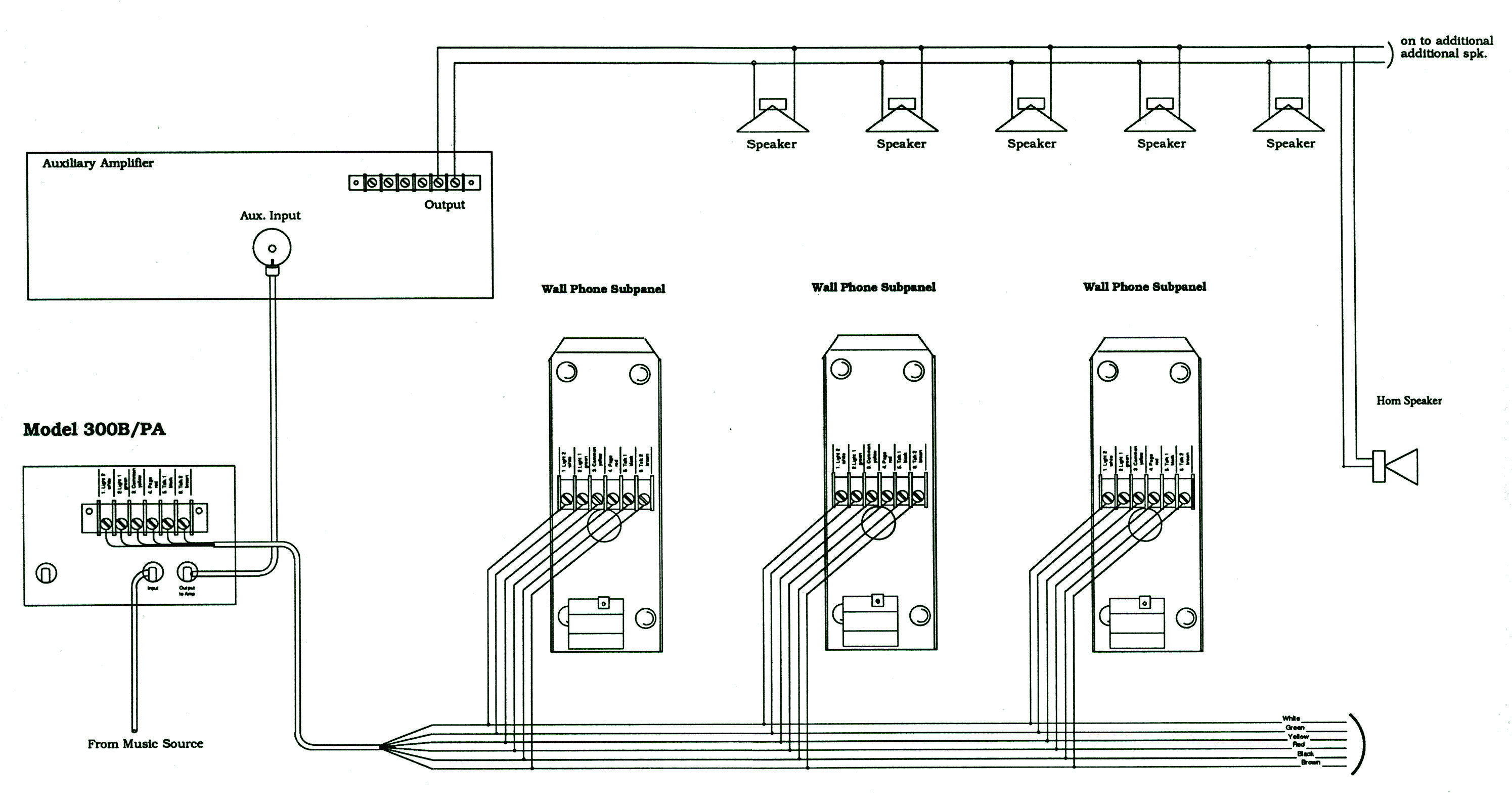bogen wiring diagram wiring library toa pa system amplifier guide