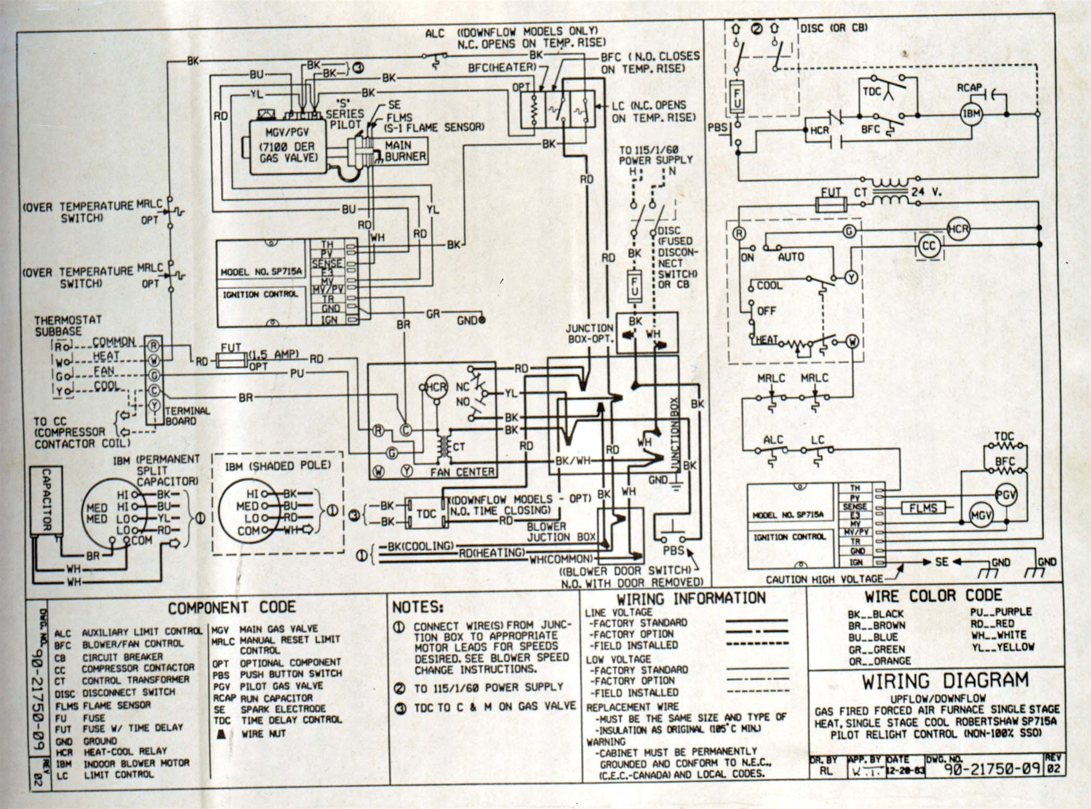 Payne Air Handler Wiring Diagram Expert Schematics Warn 16 5ti Package Unit Sample Coleman Conditioning