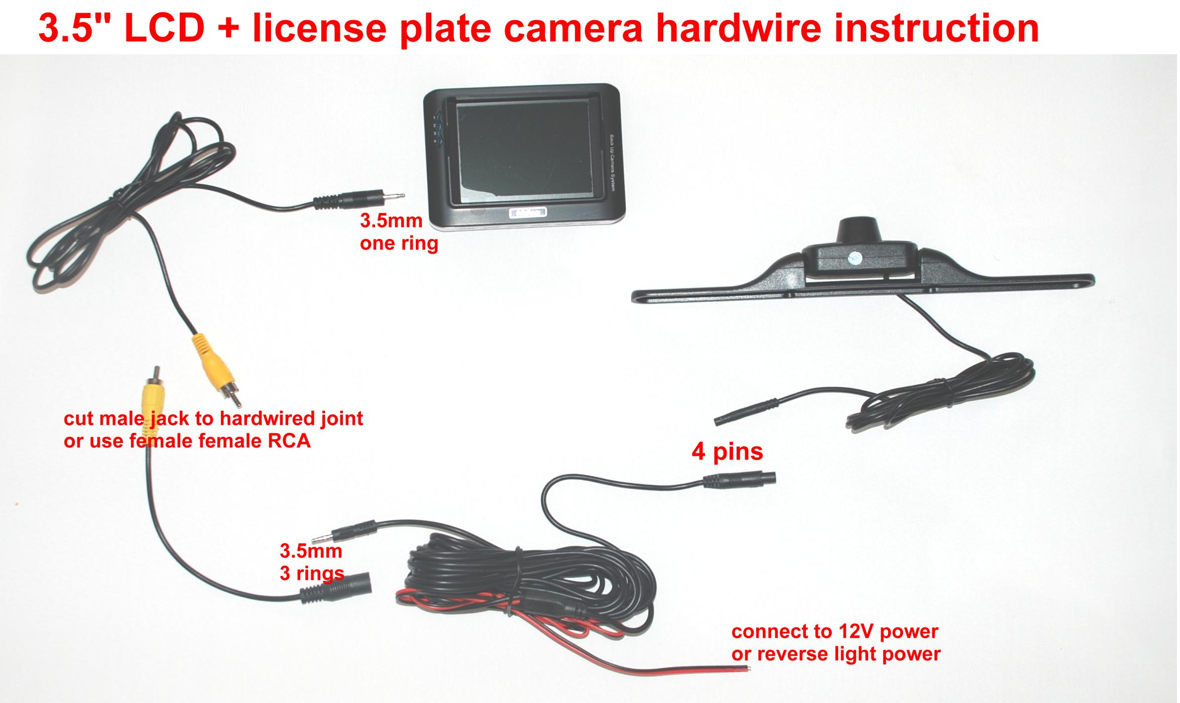 peak backup camera wiring diagram Collection-How To Wire Backup Camera Systemto Wiring Diagram Database Wireless Car Inch Lcd Color 7-g