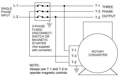 phase converter wiring diagram Collection-gallery of Rotary Phase Converter Wiring Diagram 6-g