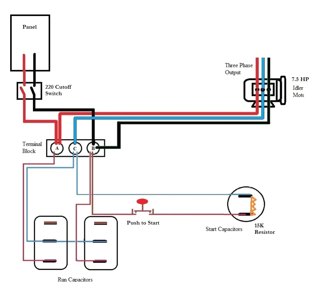 phase converter wiring diagram Download-Ronk Phase Converter Wiring Diagram 1 14-n