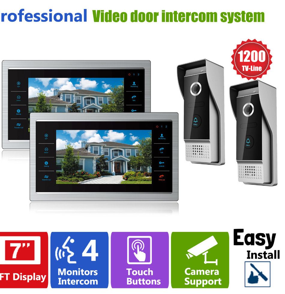 Pillow Tft Lcd Color Monitor Wiring Diagram Gallery 1 Doorbell 2 Chime Free Download Collection Homefong 7 Video Door Bell