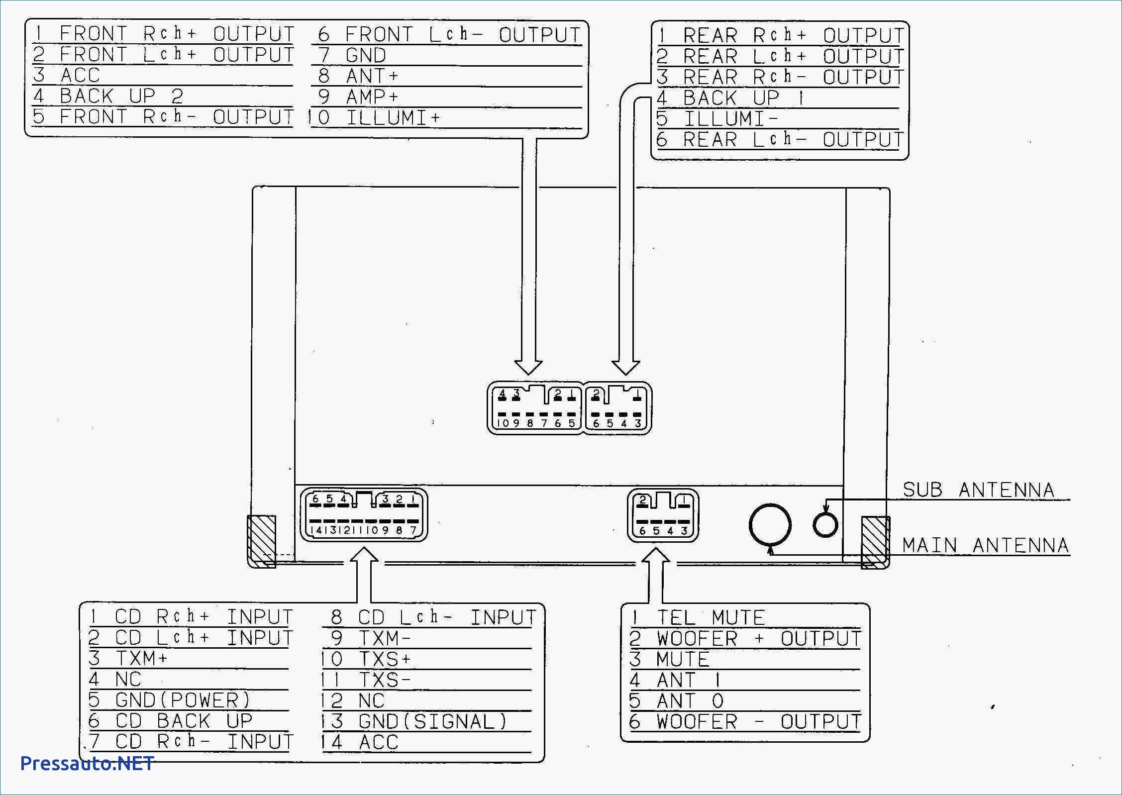 pioneer car stereo wiring diagram free Download-Pioneer Car Stereo Wiring Diagram Unique Car Audio Wire Diagram 5-n