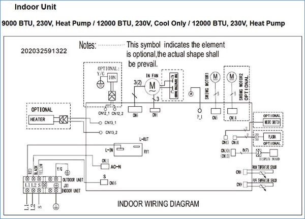 pioneer mini split wiring diagram Download-Pioneer Air Conditioner Ac Mini Split Error Codes and 8-c