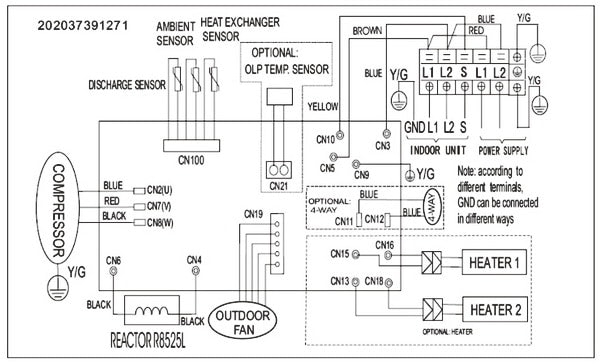 pioneer mini split wiring diagram Download-Split system air conditioner wiring diagram pioneer inverter ductless wall mount mini outdoor uptodate portrait 3-f