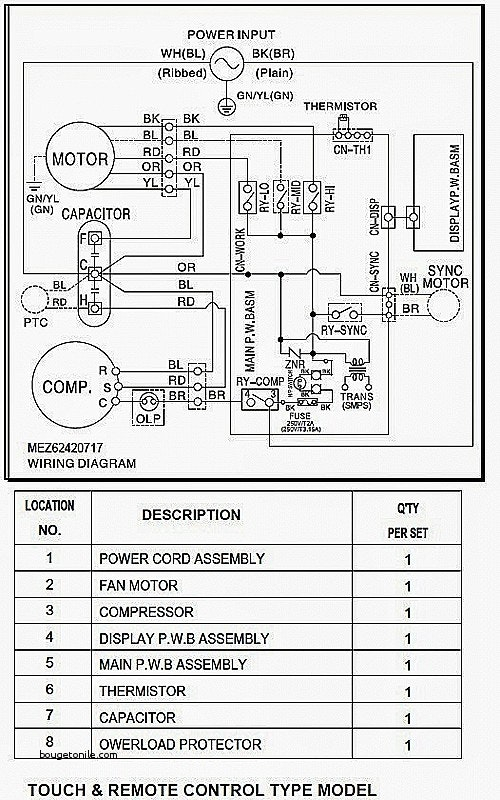 pioneer mini split wiring diagram Collection-Split system air conditioner wiring diagram type conditioning elegant of grand vision 7 19-g