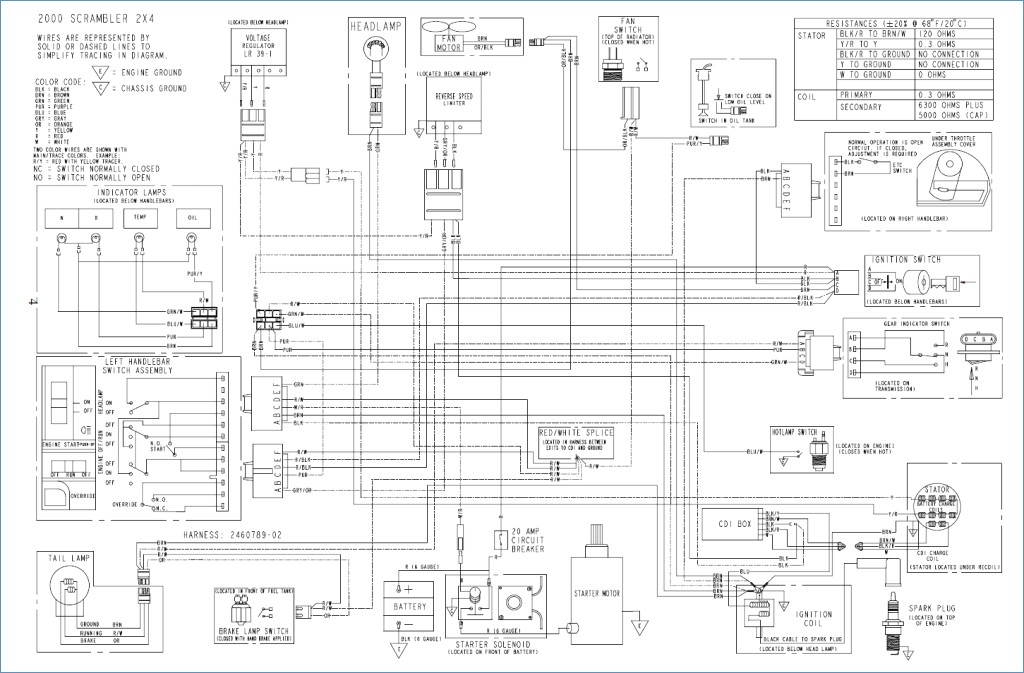 Polaris Ranger Ignition Wiring Diagram Polaris Ranger Xp Wiring Diagram Somurich G
