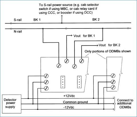 power supply wiring diagram Collection-OD TRACK OCCUPANCY DETECTOR – JLC Enterprises · 25 Mm Jack Wiring Diagram 14-m