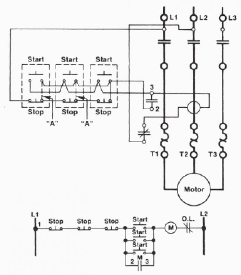 Push Button Station Wiring Diagram Sample Wiring Diagram