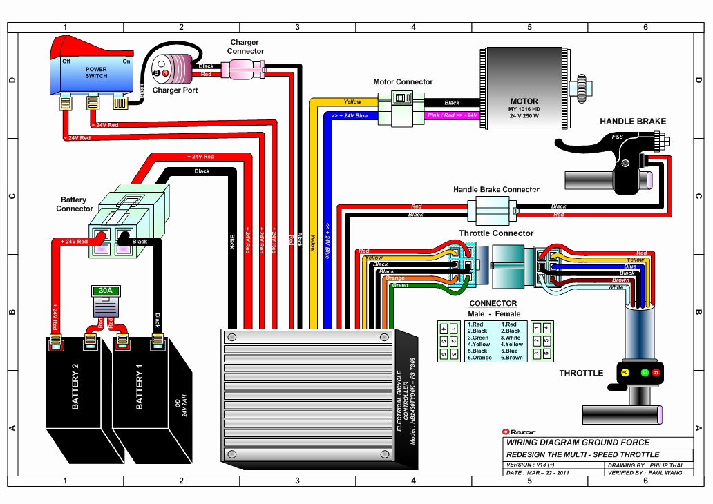 razor go kart wiring diagram Collection-Gy6 Go Kart Wiring Diagram Fresh Razor Ground force Electric Go Kart Parts Electricscooterparts 3-f