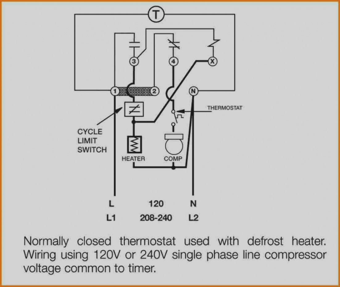 refrigerator defrost timer wiring diagram Download-Gallery Defrost Timer Wiring  Diagram Freezer To Paragon 8145. DOWNLOAD. Wiring Diagram ...