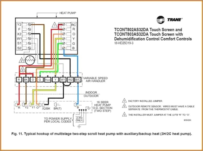 rheem heat pump thermostat wiring diagram Download-Goodman Heat Pump thermostat Wiring Diagram York Rheem Honeywell 3-f