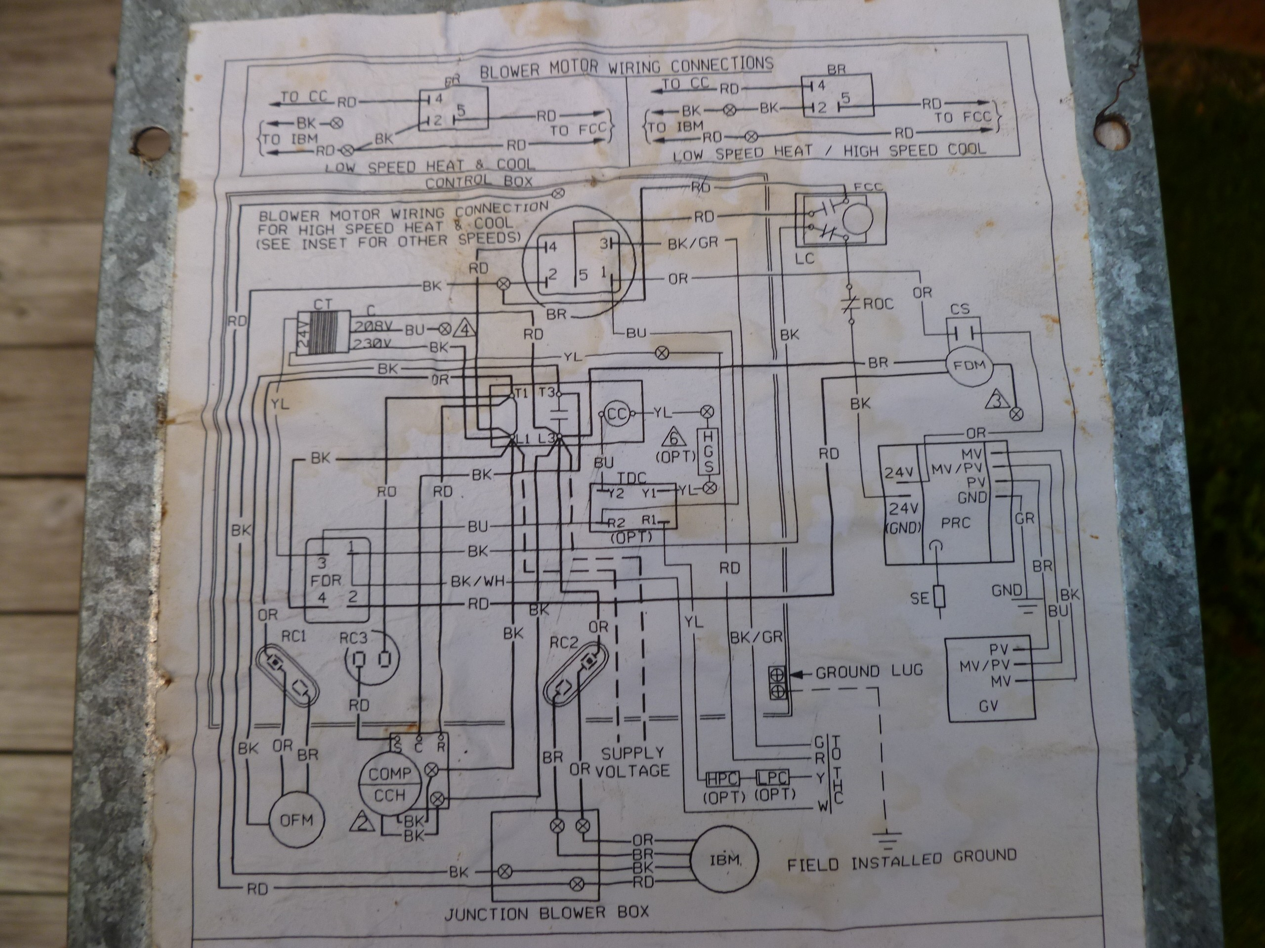 rheem rhllhm3617ja wiring diagram - wiring diagram goodman package unit wiring diagram oil package unit wiring diagram