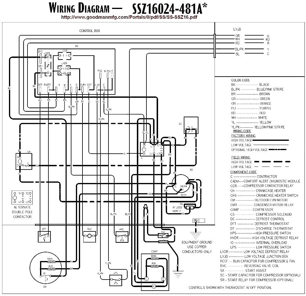 Rheem Low Voltage Wiring Diagram | Wiring Liry on