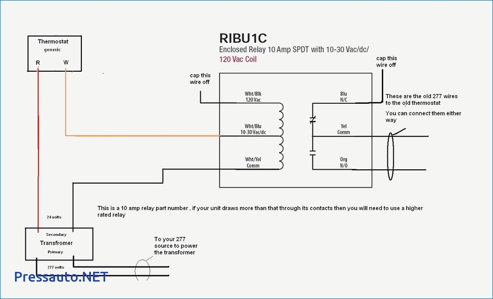 ribu1c wiring diagram Collection-Wiring diagram air conditioning thermostat 14-p