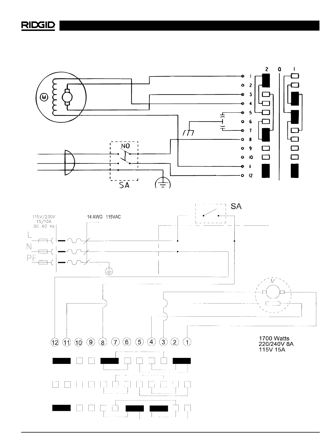 ridgid 1224 switch wiring diagram
