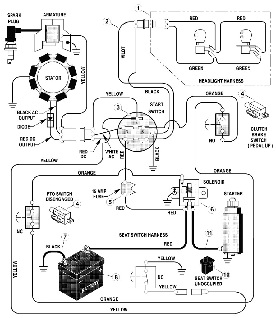 riding lawn mower ignition switch wiring diagram Download-Lawn Mower Ignition Switch Wiring Diagram Unique Ignition Switch Wiring Diagrams Ac Schematic Diagram New Lawn 13-p
